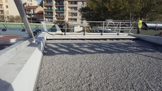 Terrasse Support Béton Avec Protection Gravillons ...